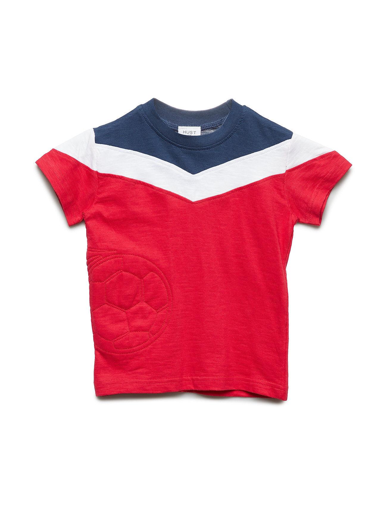 Hust & Claire Arthur - T-Shirt S/S T-shirts Short-sleeved Punainen Hust & Claire