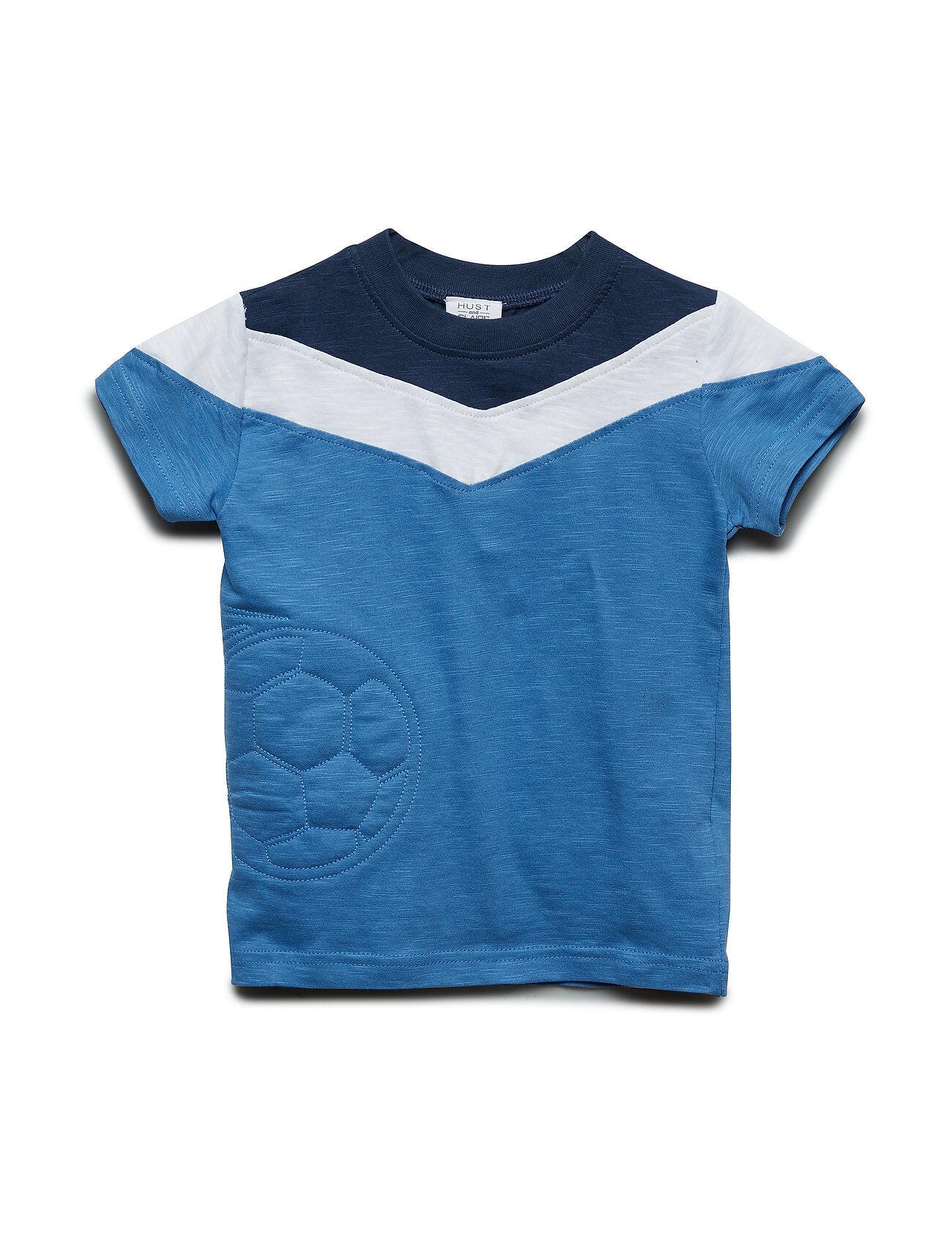 Hust & Claire Arthur - T-Shirt S/S T-shirts Short-sleeved Sininen Hust & Claire