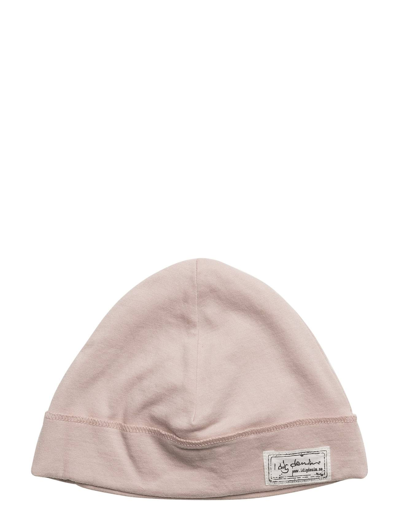 I dig denim Ian Beanie Accessories Headwear Hats Vaaleanpunainen I Dig Denim