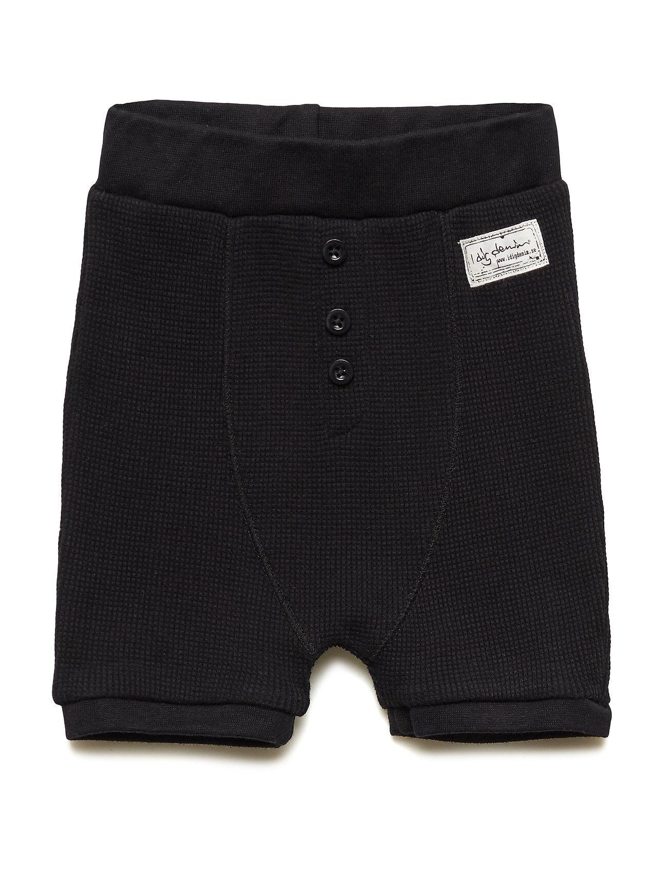 I dig denim Ly Shorts Shortsit Musta I Dig Denim