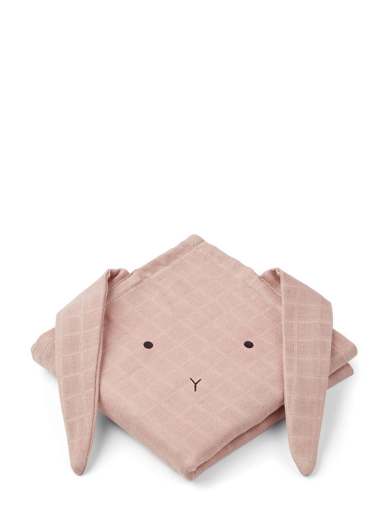 Liewood Hannah Muslin Cloth Rabbit 2 Pack