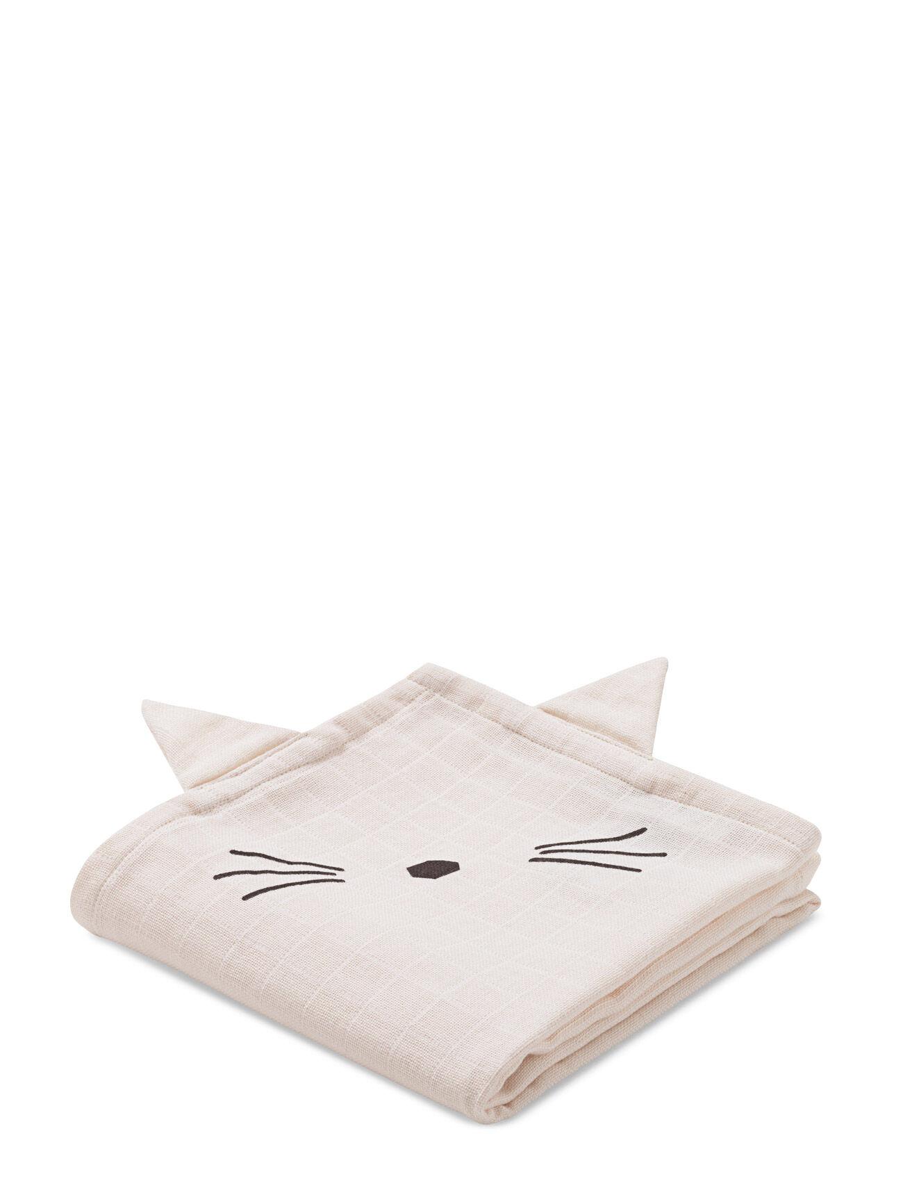 Liewood Hannah Muslin Cloth Cat 2 Pack
