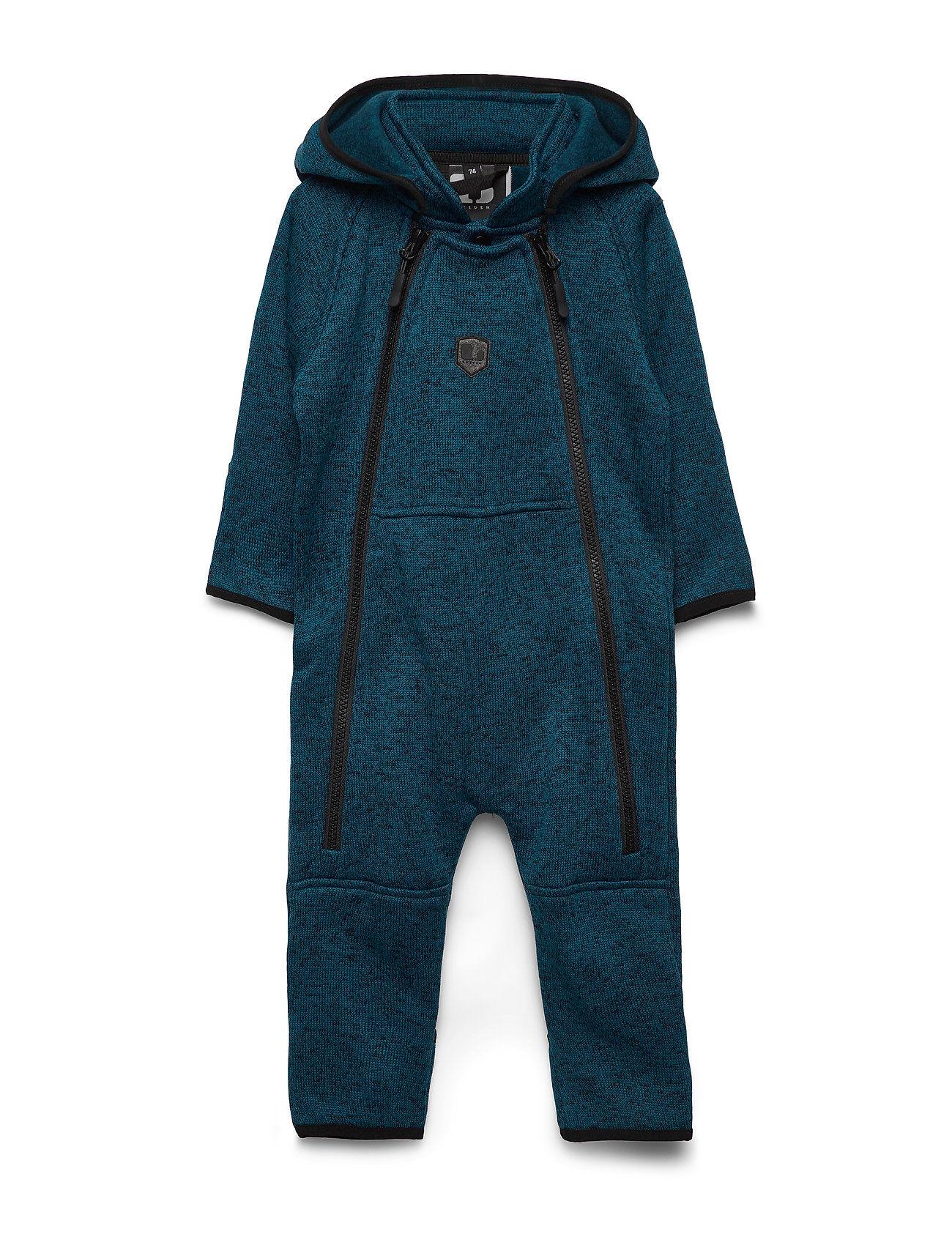 Lindberg Sweden Bormio Baby Overall Outerwear Fleece Outerwear Fleece Suits Sininen Lindberg Sweden