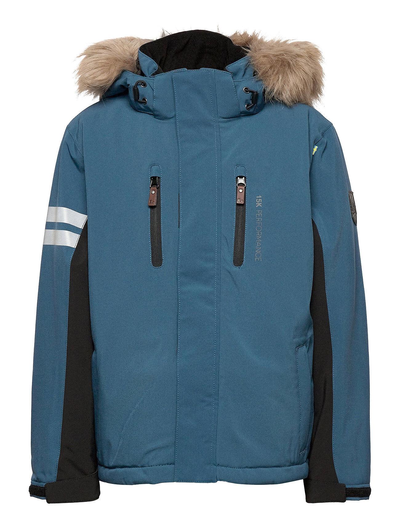 Lindberg Sweden Colden Jacket Outerwear Snow/ski Clothing Snow/ski Jacket Sininen Lindberg Sweden