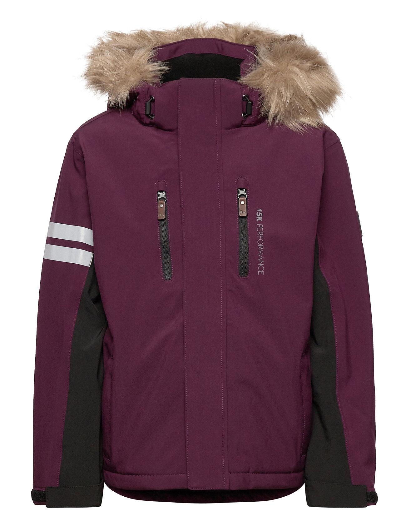 Lindberg Sweden Colden Jacket Outerwear Snow/ski Clothing Snow/ski Jacket Vaaleanpunainen Lindberg Sweden