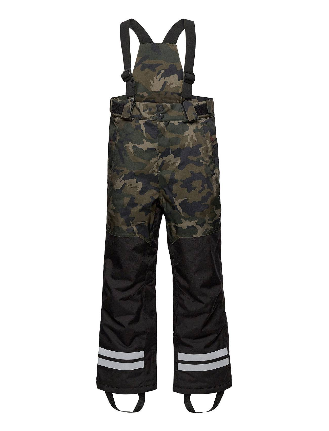 Lindberg Sweden Camo Pants Outerwear Snow/ski Clothing Snow/ski Pants Vihreä Lindberg Sweden
