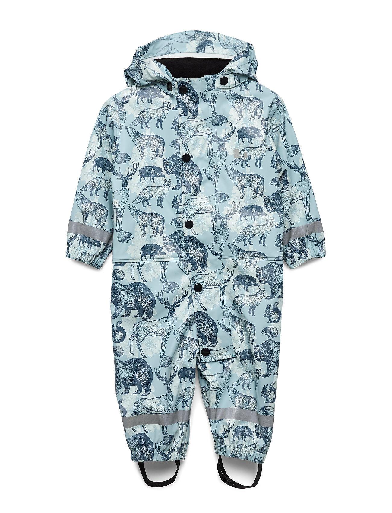 Lindberg Sweden DjurÅS Rain Babyove Outerwear Rainwear Sets & Coveralls Sininen Lindberg Sweden