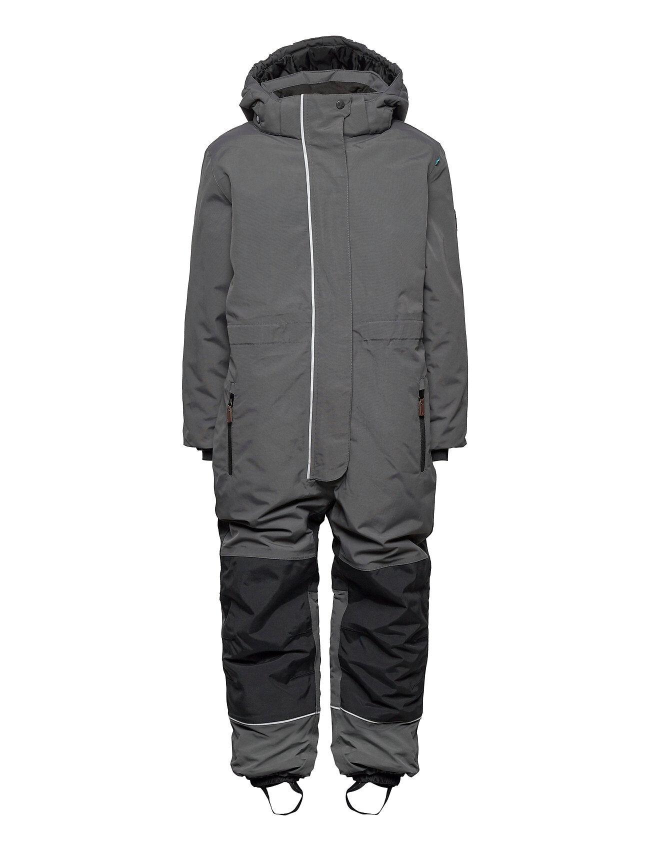 Lindberg Sweden Iceberg Overall Outerwear Snow/ski Clothing Snow/ski Suits & Sets Harmaa Lindberg Sweden
