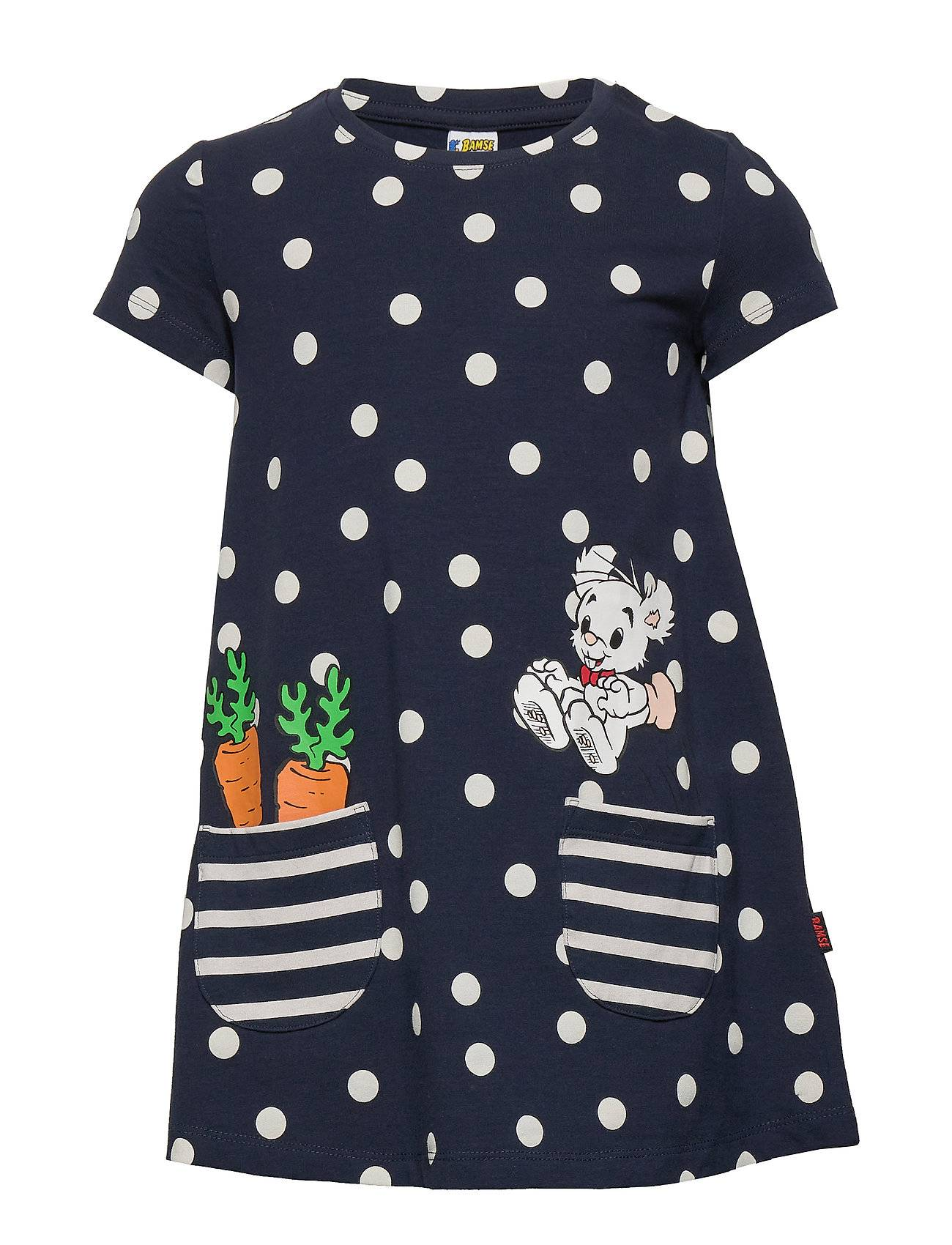 Lindex Top Long Bamse S S Pockets Mekko Musta Lindex