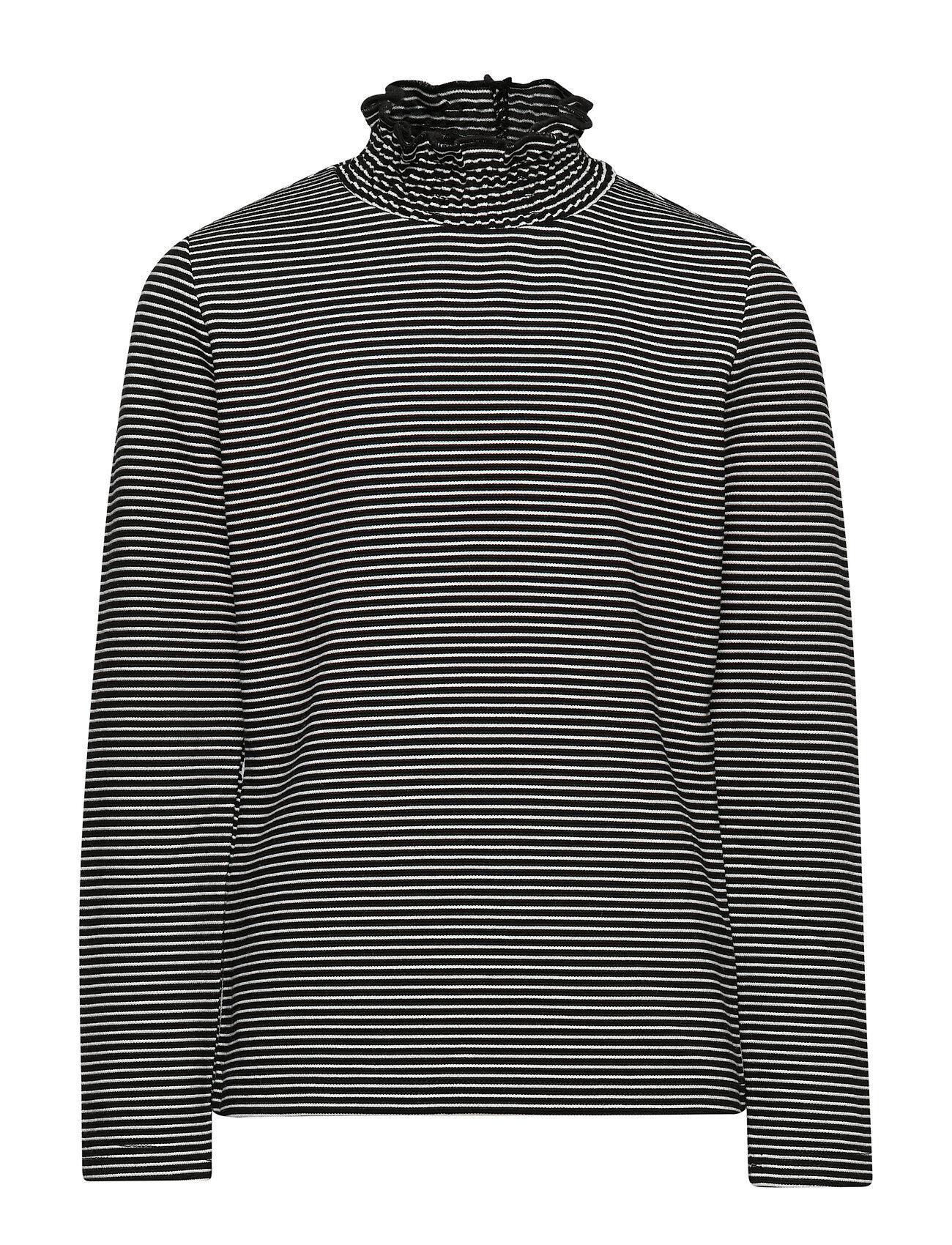 LMTD Nlfolympia Ls Reg Turtleneck Top T-shirts Long-sleeved T-shirts Musta LMTD