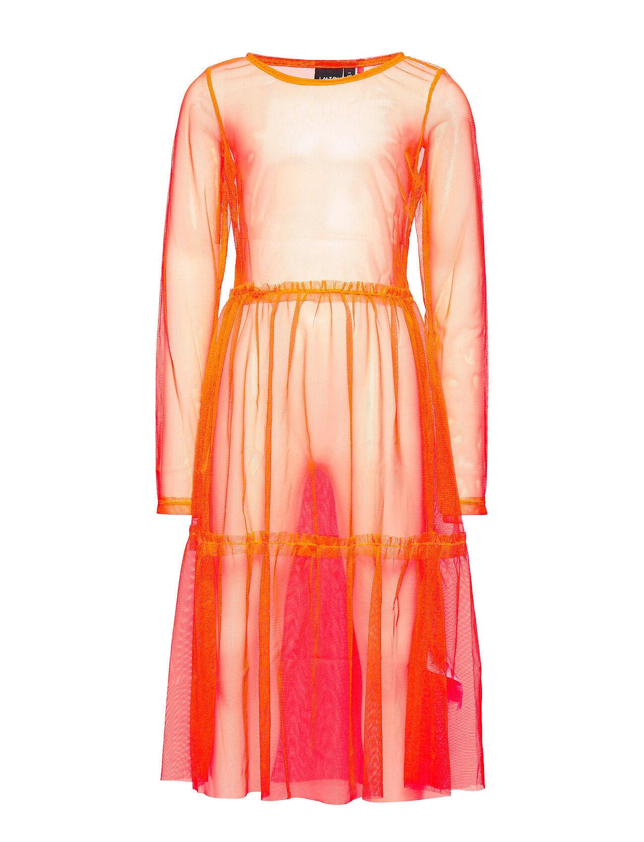 LMTD Nlfharissa Ls Dress Mekko Oranssi LMTD