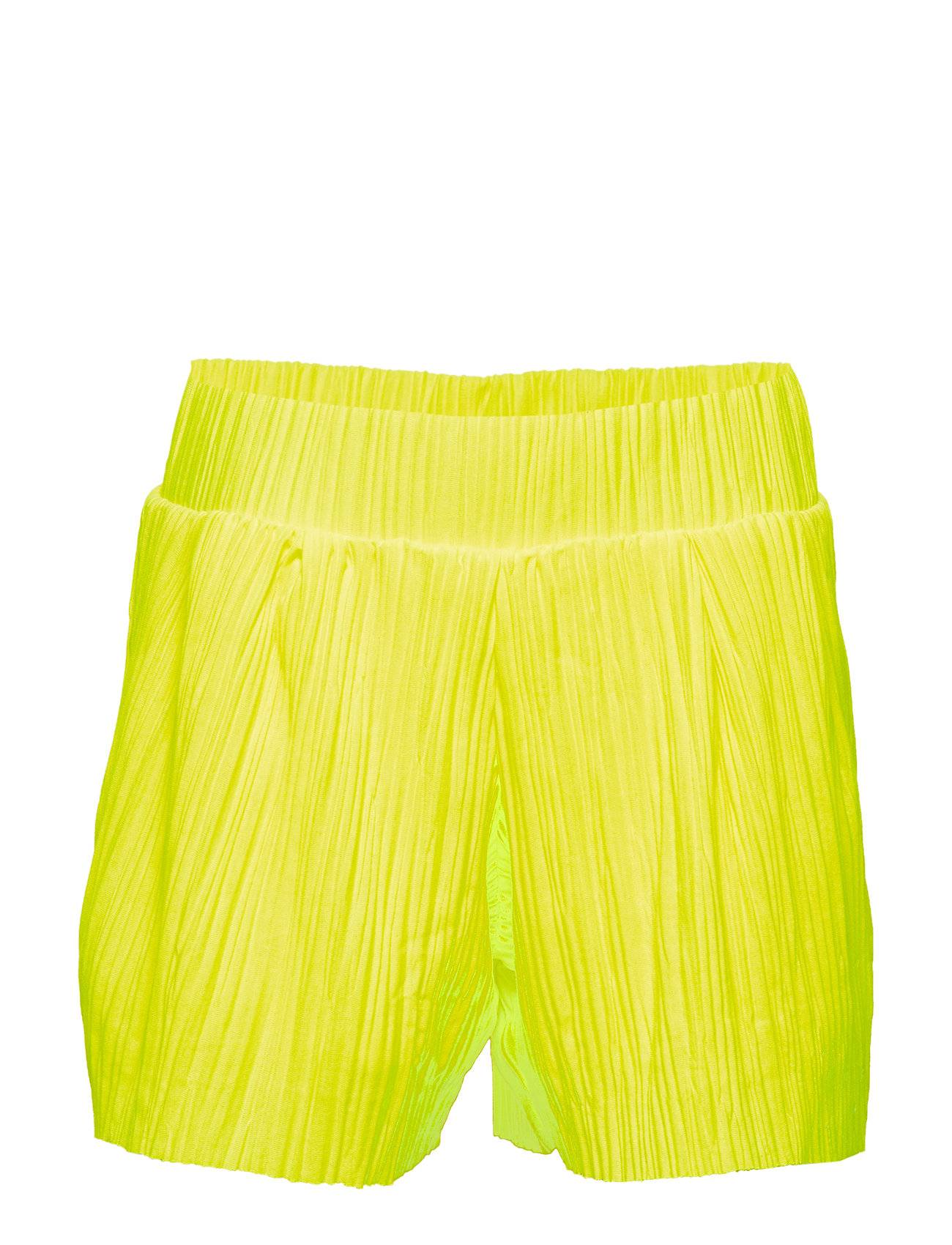 LMTD Nlfdahlia Loose Shorts W. Lining Shortsit Keltainen LMTD
