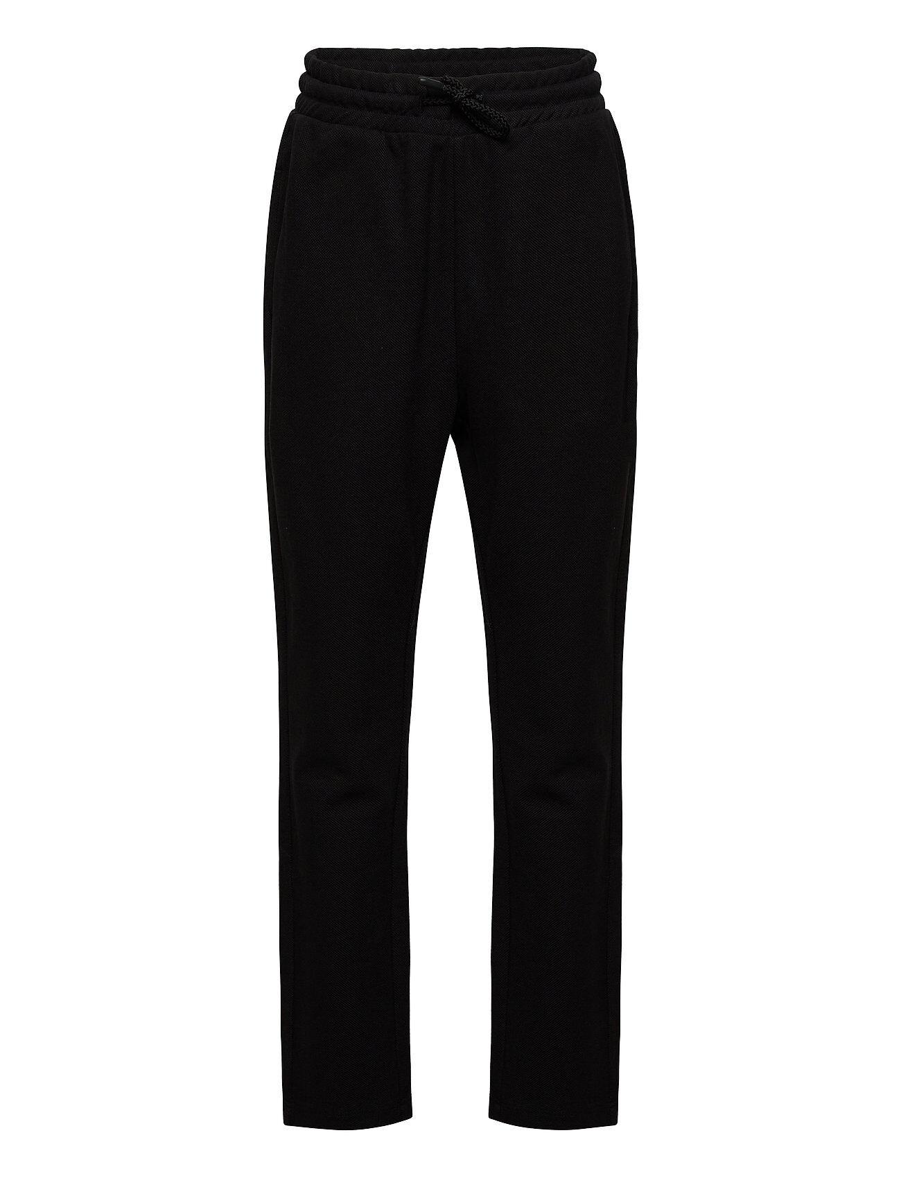 LMTD Nlmfakke Sweat Reg/Slim Pant Collegehousut Olohousut Musta LMTD
