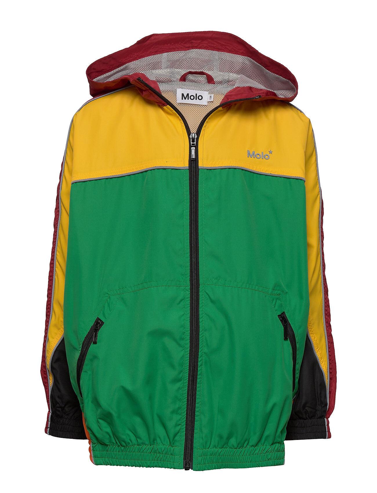 Molo Miirto Outerwear Jackets & Coats Windbreaker Vihreä Molo