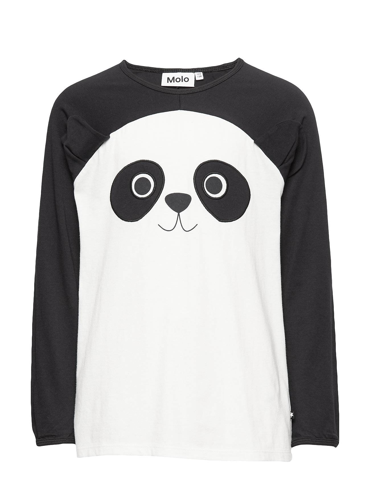 Molo Linni T-shirts Long-sleeved T-shirts Musta Molo