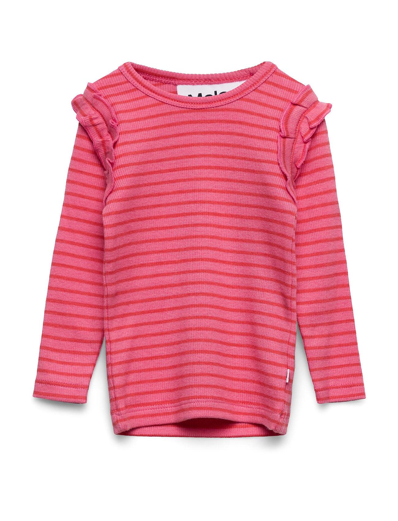 Molo Emma T-shirts Long-sleeved T-shirts Vaaleanpunainen Molo