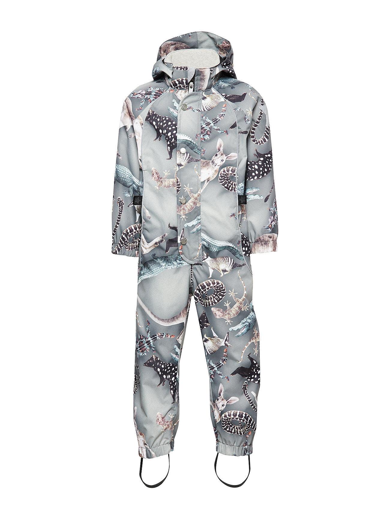 Molo Polly Outerwear Shell Clothing Shell Coveralls Harmaa Molo