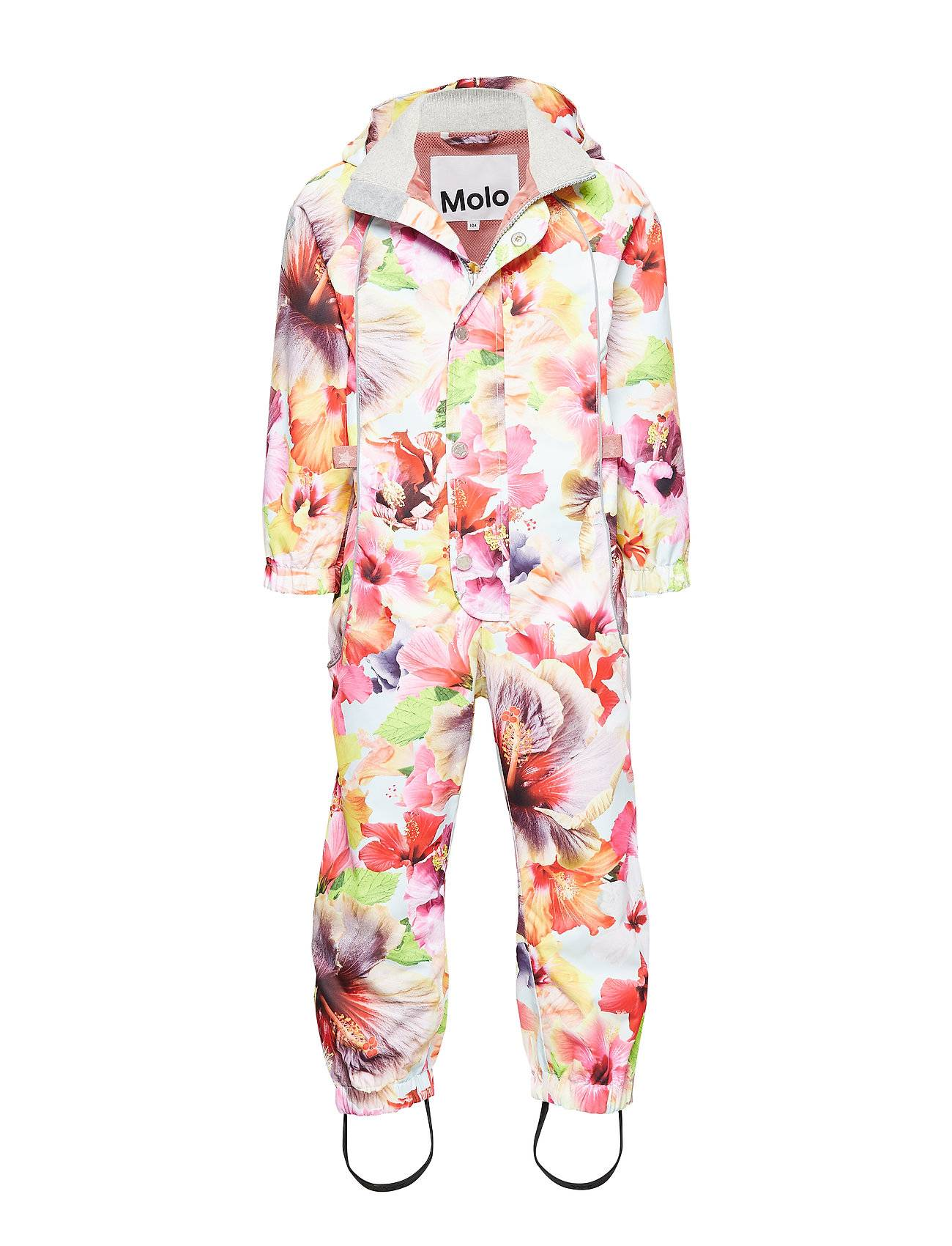 Molo Polly Outerwear Shell Clothing Shell Coveralls Vaaleanpunainen Molo