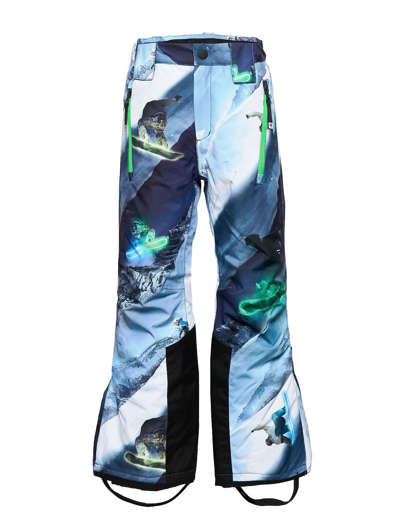 Molo Jump Pro Outerwear Snow/ski Clothing Snow/ski Pants Sininen Molo