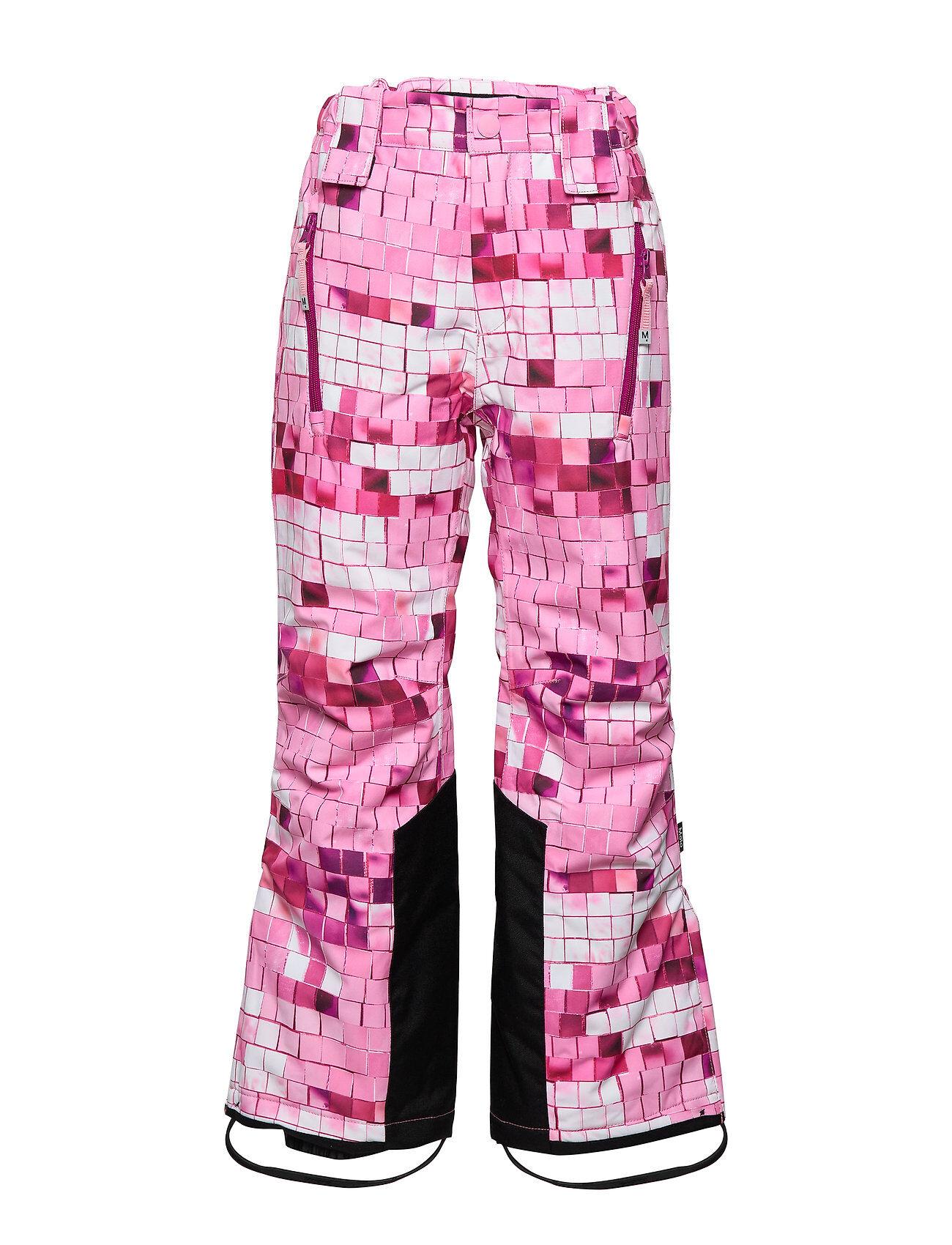 Molo Jump Pro Outerwear Snow/ski Clothing Snow/ski Pants Vaaleanpunainen Molo