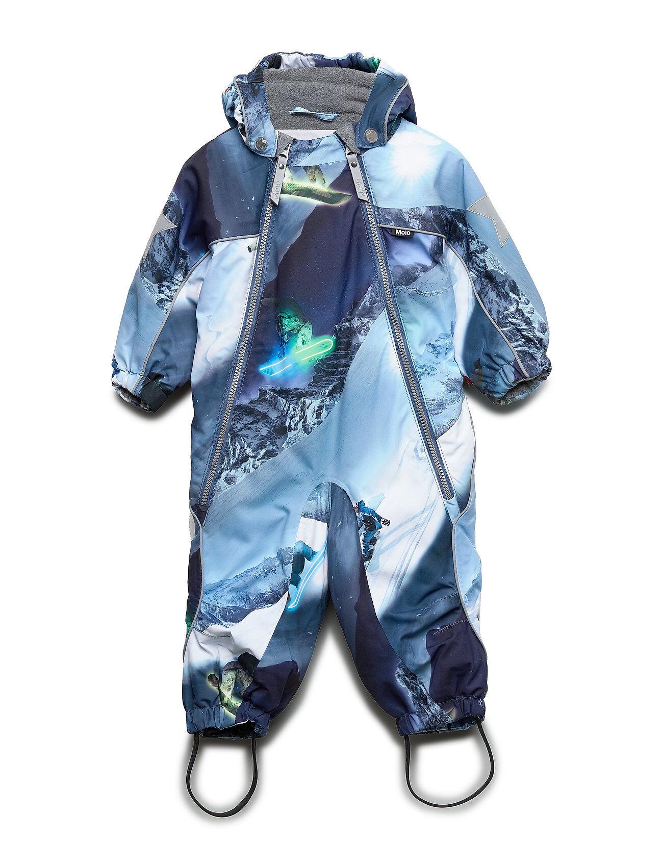 Molo Pyxis Outerwear Snow/ski Clothing Snow/ski Suits & Sets Sininen Molo