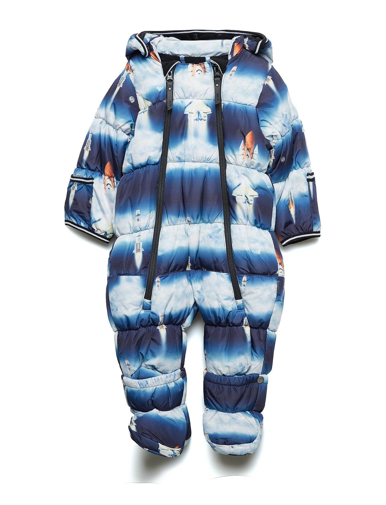 Molo Hebe Outerwear Snow/ski Clothing Snow/ski Suits & Sets Sininen Molo