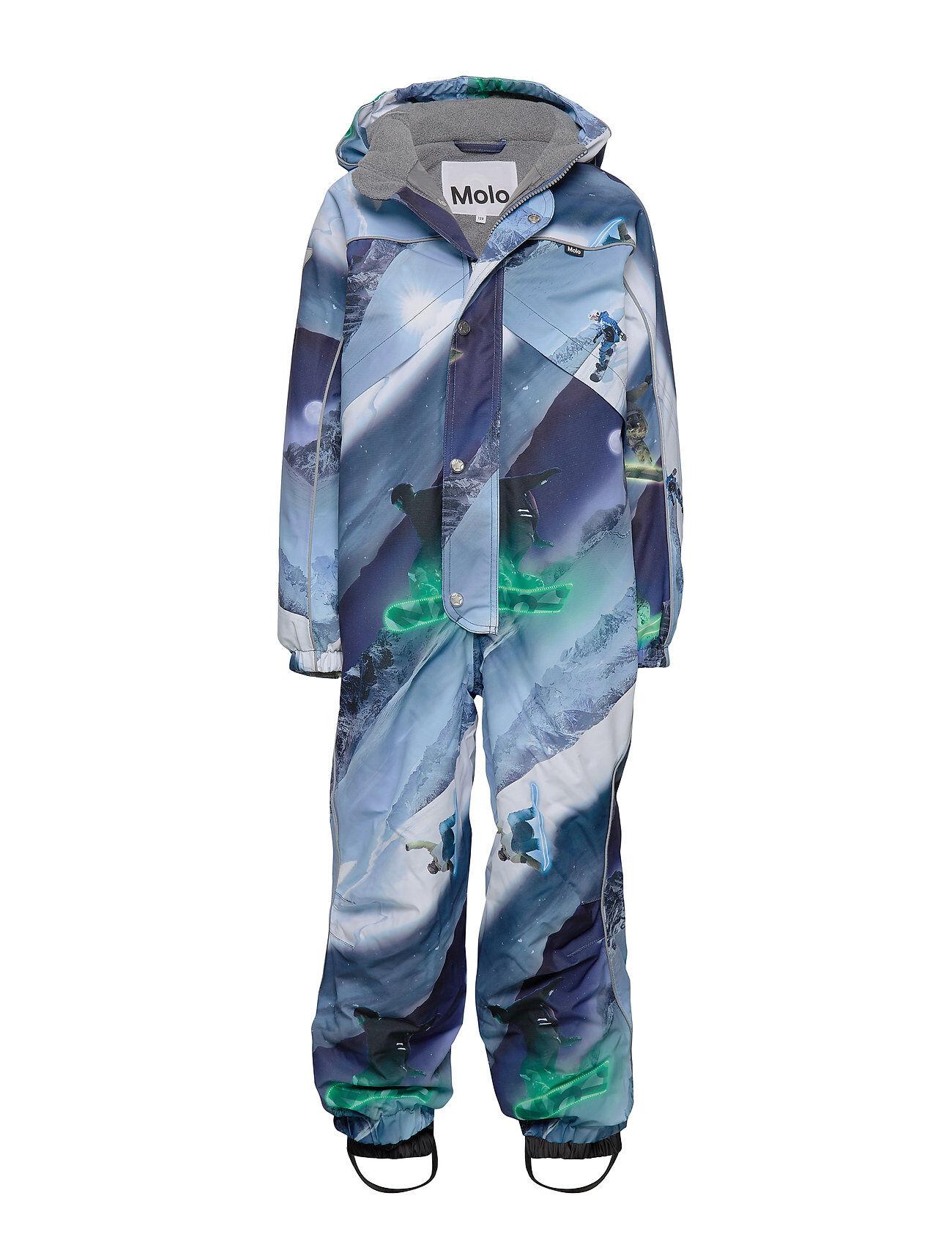 Molo Polaris Outerwear Snow/ski Clothing Snow/ski Suits & Sets Sininen Molo