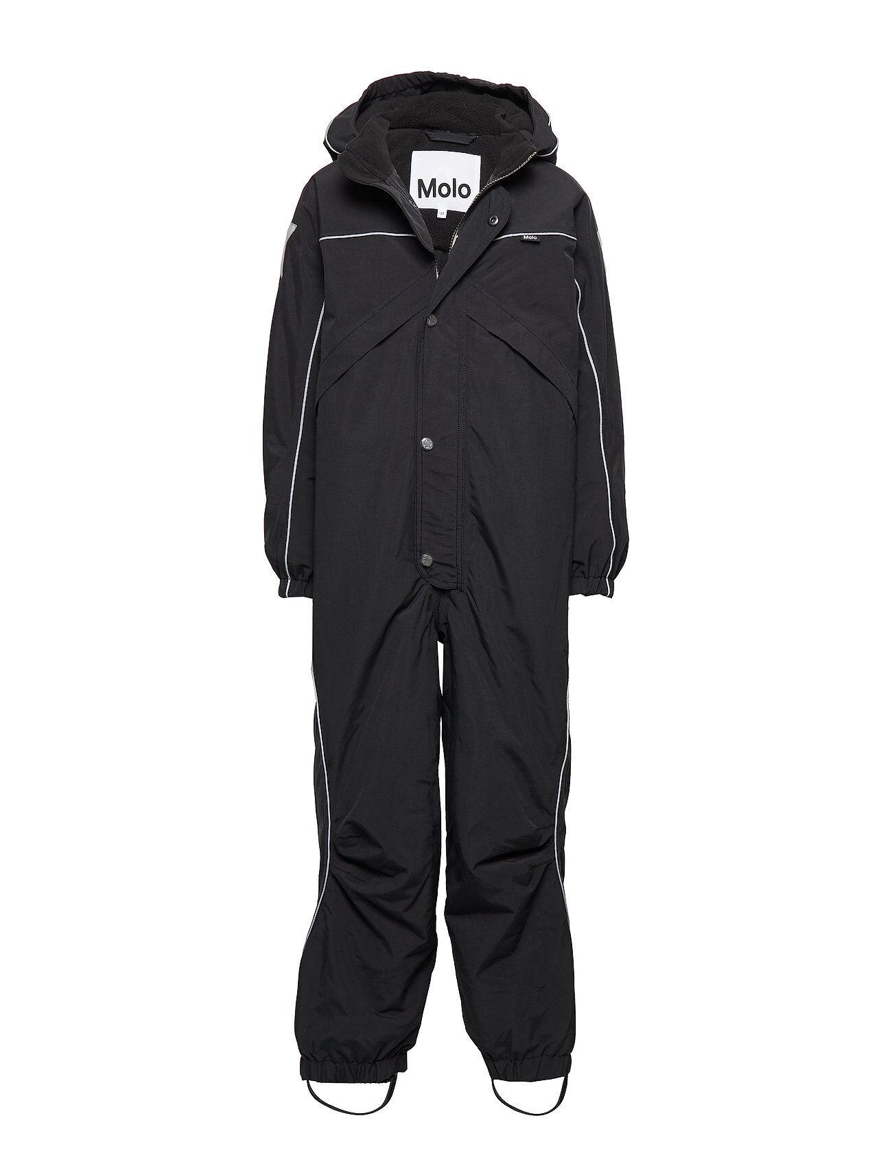 Molo Polaris Outerwear Snow/ski Clothing Snow/ski Suits & Sets Musta Molo