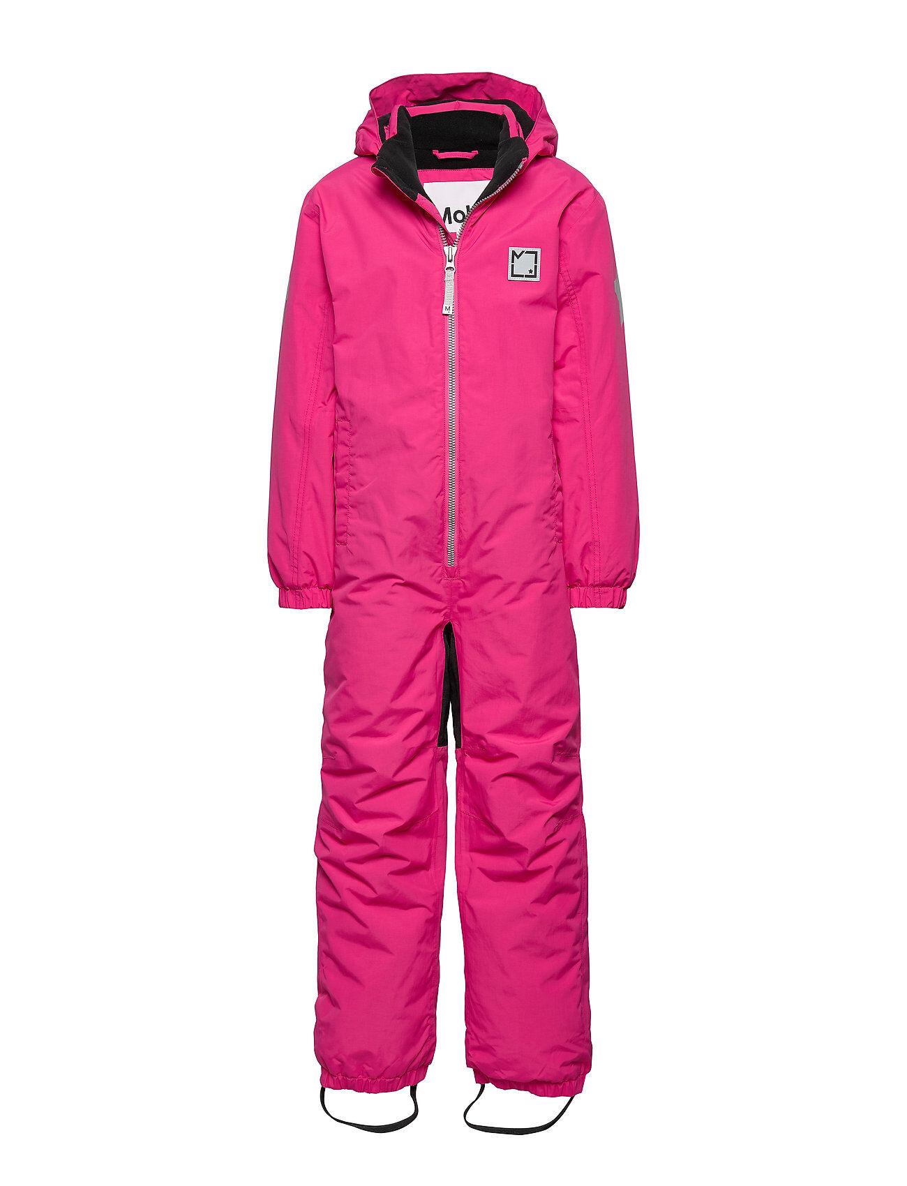 Molo Haze Outerwear Snow/ski Clothing Snow/ski Suits & Sets Vaaleanpunainen Molo