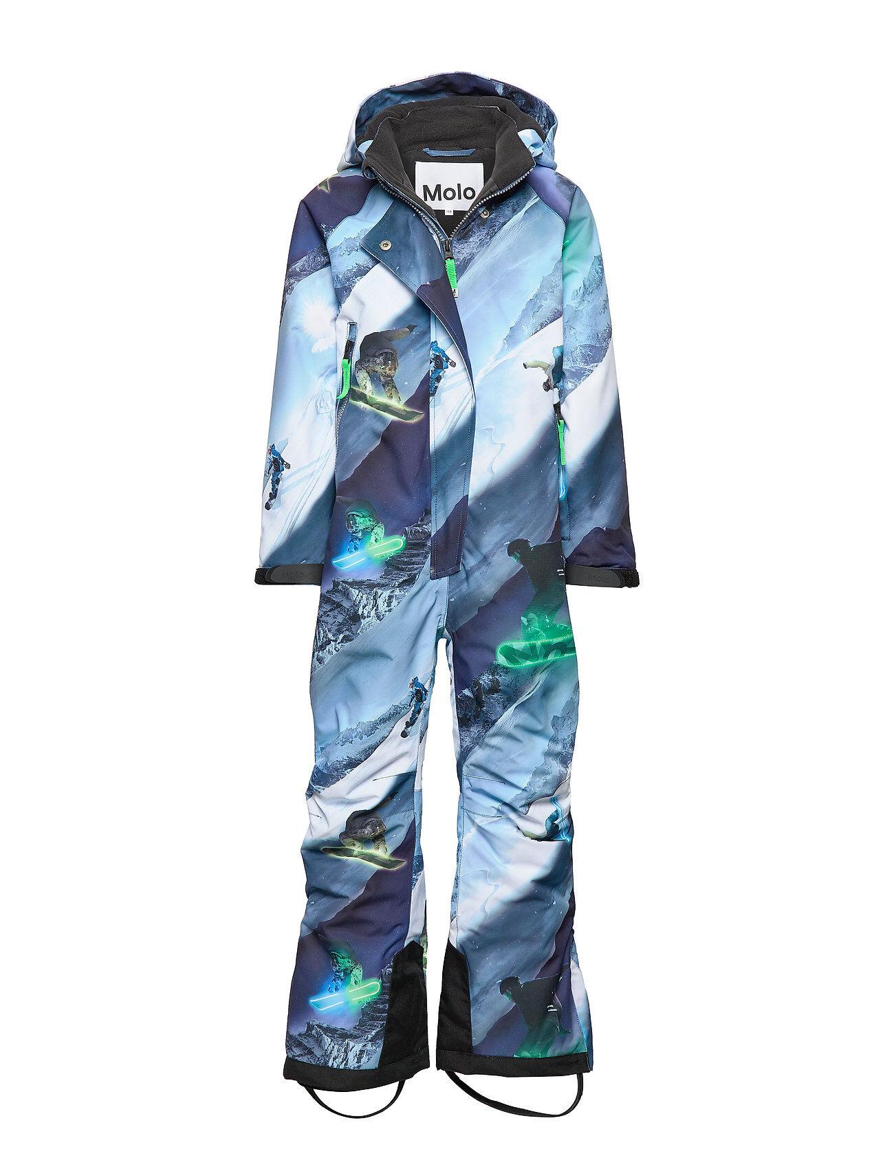 Molo Hux Outerwear Snow/ski Clothing Snow/ski Suits & Sets Sininen Molo
