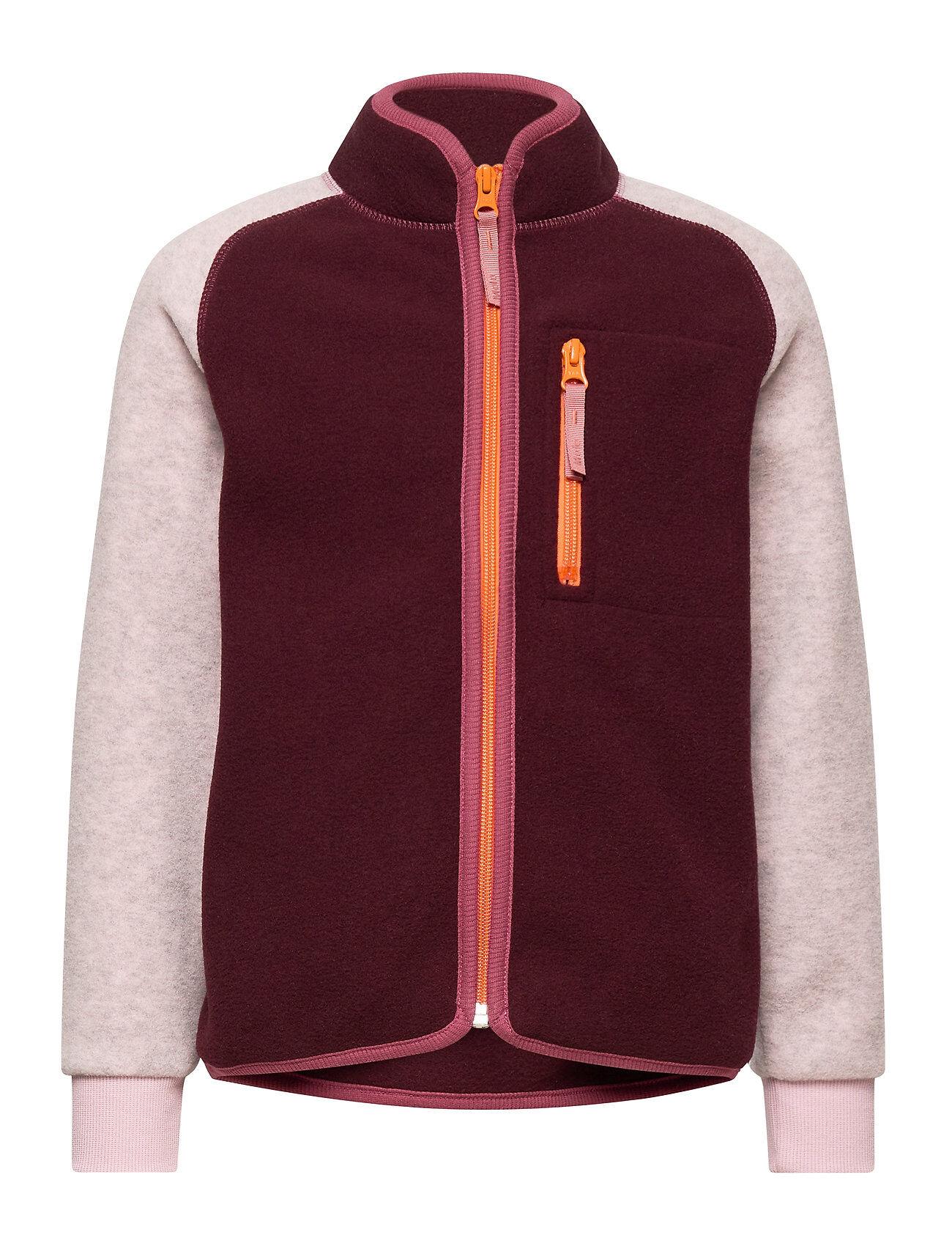 Molo Unna Outerwear Fleece Outerwear Fleece Jackets Punainen Molo