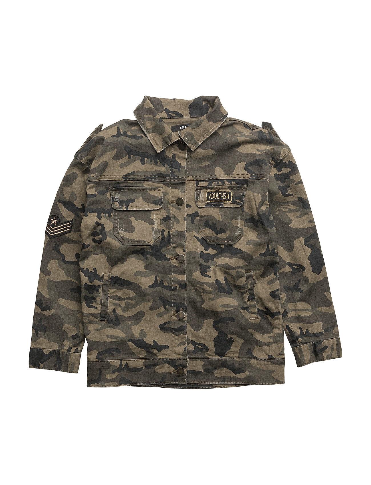name it Nitalsine Over D Twi Jacket F Lmtd Outerwear Jackets & Coats Denim & Corduroy Vihreä Name It