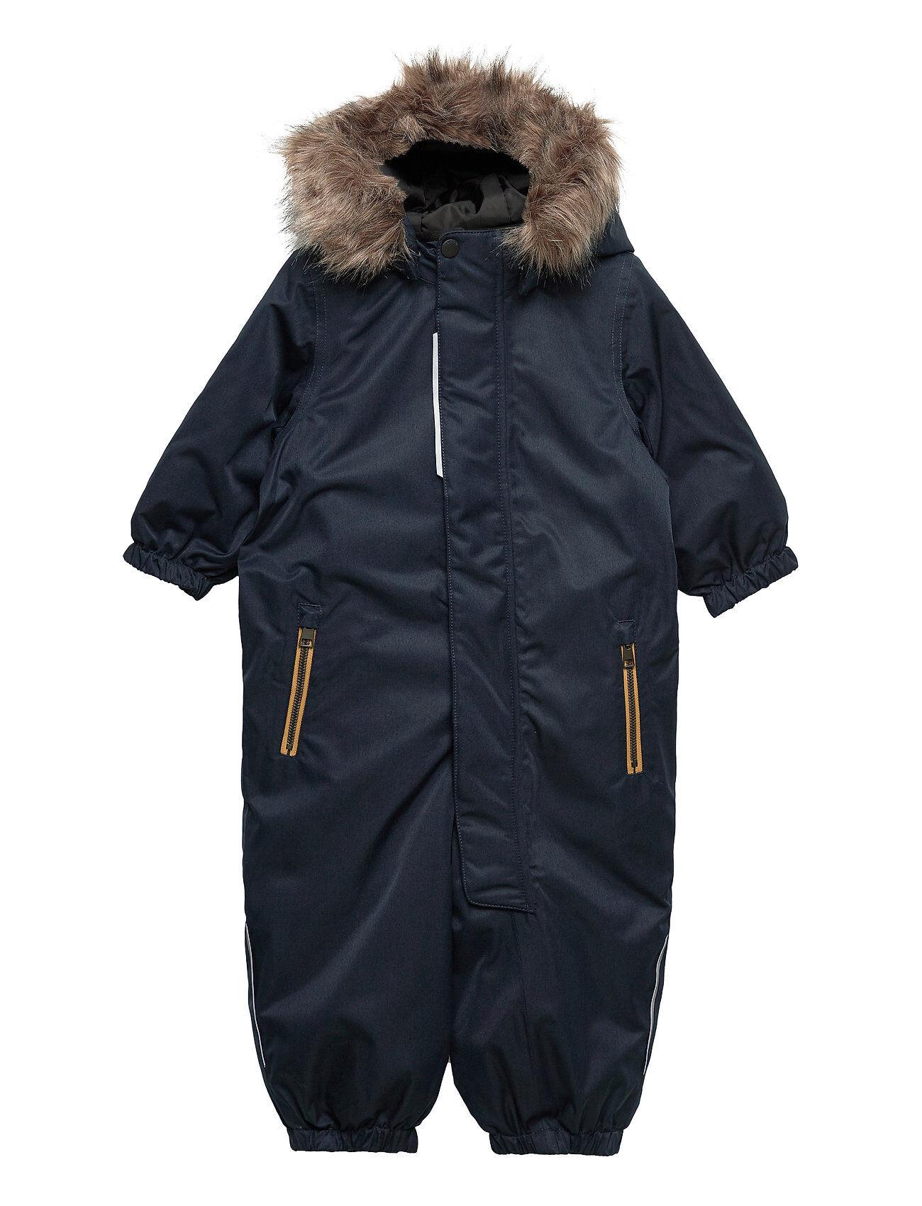 name it Nmmsnow10 Suit 2fo Outerwear Snow/ski Clothing Snow/ski Suits & Sets Sininen Name It