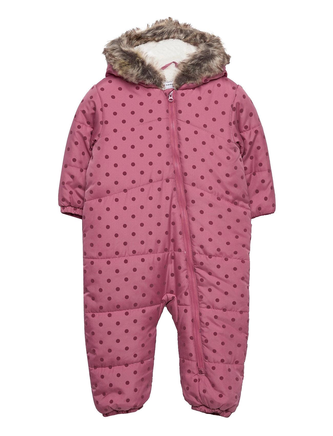 name it Nbfmaja Suit Outerwear Snow/ski Clothing Snow/ski Suits & Sets Liila Name It