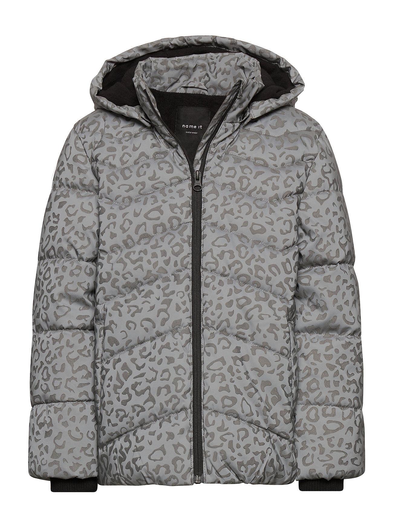 name it Nkfmatilda Reflective Jacket Toppatakki Harmaa Name It