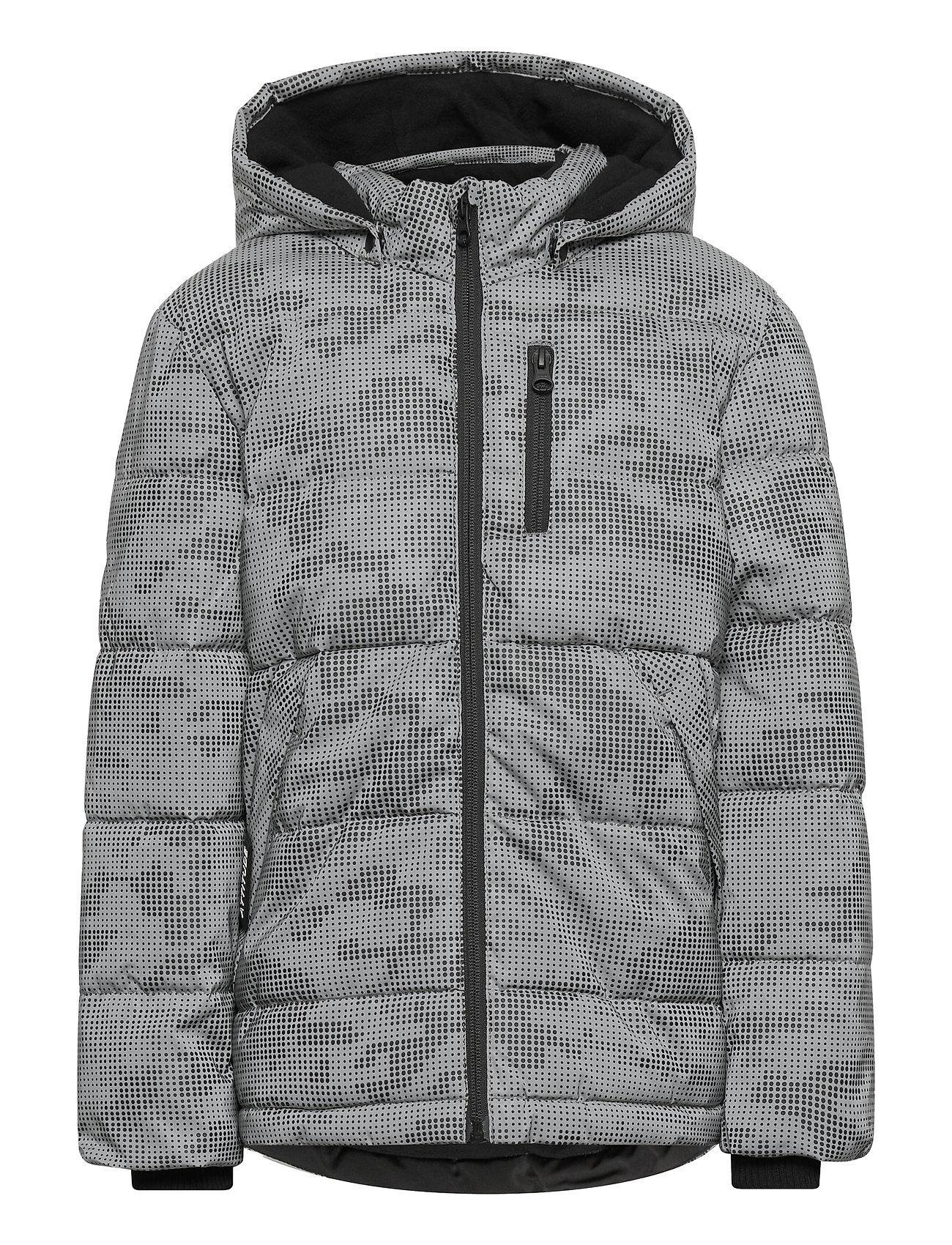name it Nkmmonsson Reflective Jacket Toppatakki Harmaa Name It