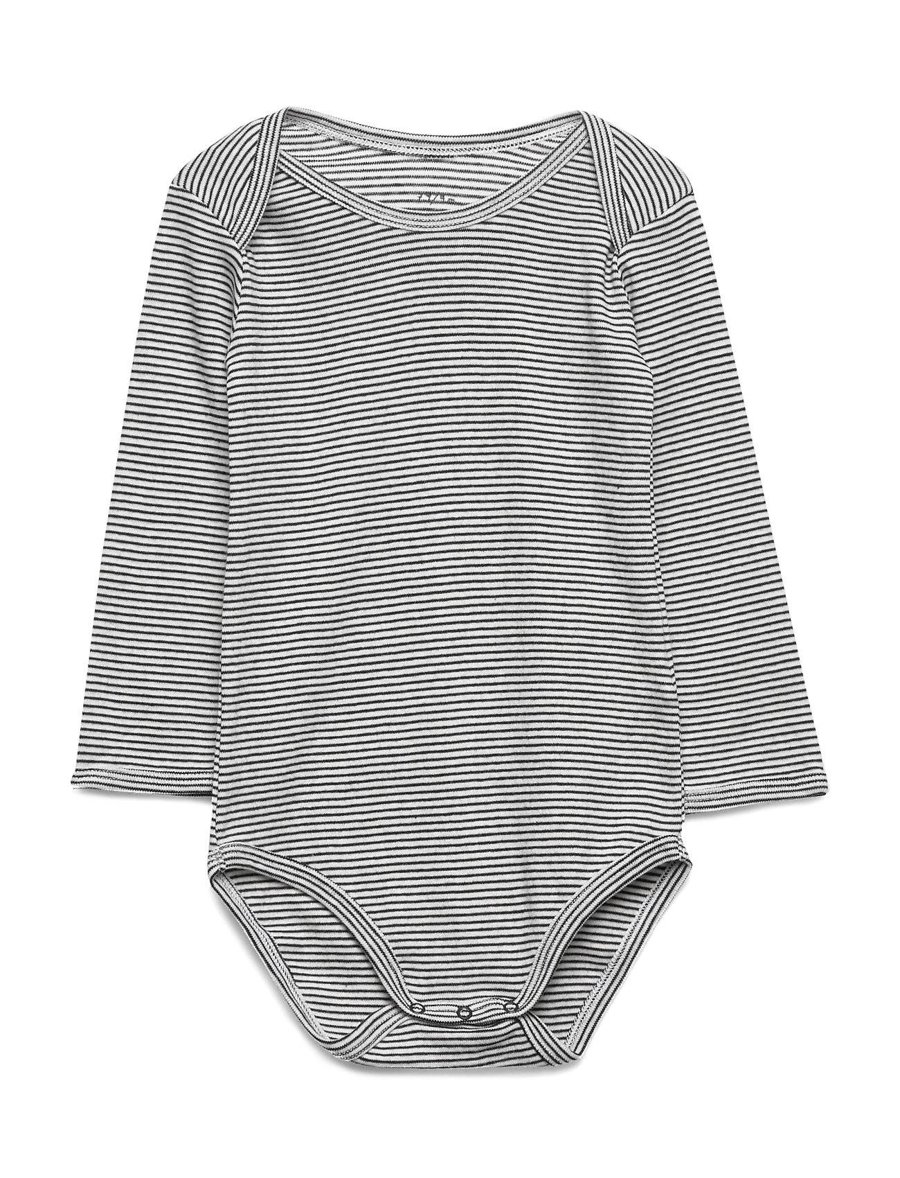 Noa Noa Miniature Baby Body Bodies Long-sleeved Harmaa Noa Noa Miniature
