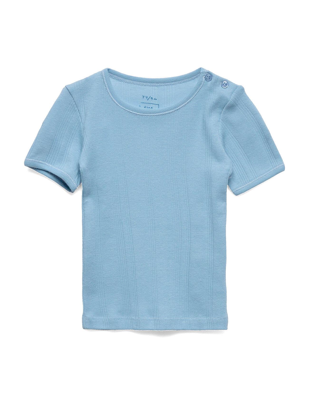 Noa Noa Miniature T-Shirt T-shirts Short-sleeved Sininen Noa Noa Miniature