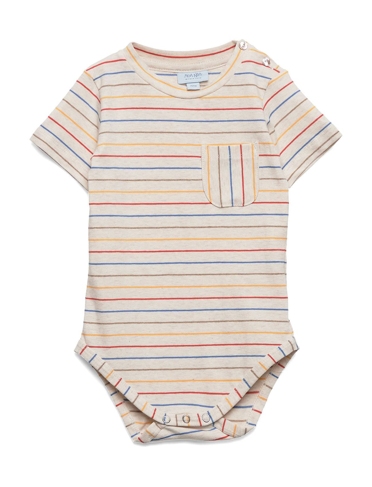 Noa Noa Miniature Baby Body Bodies Short-sleeved Monivärinen/Kuvioitu Noa Noa Miniature