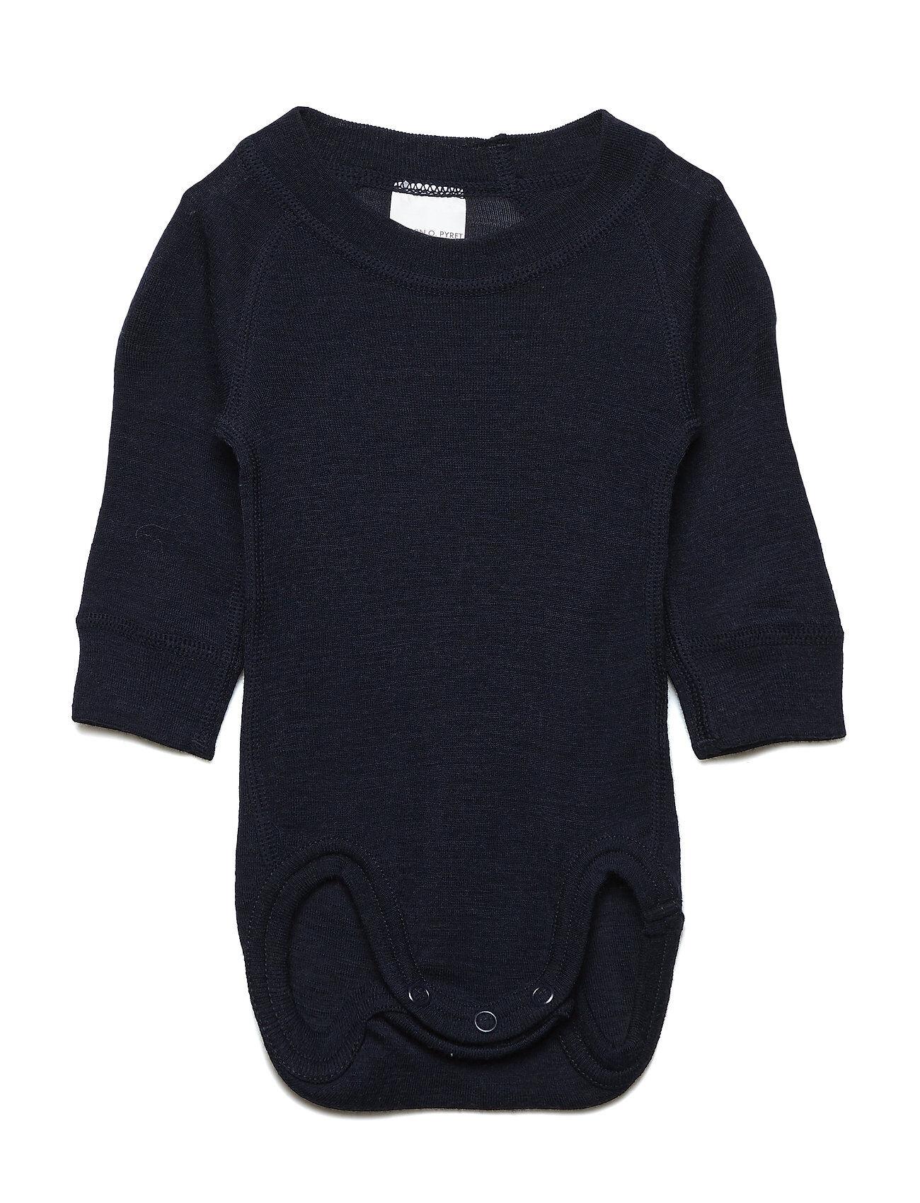 Polarn O. Pyret Body Wool Solid Newborn