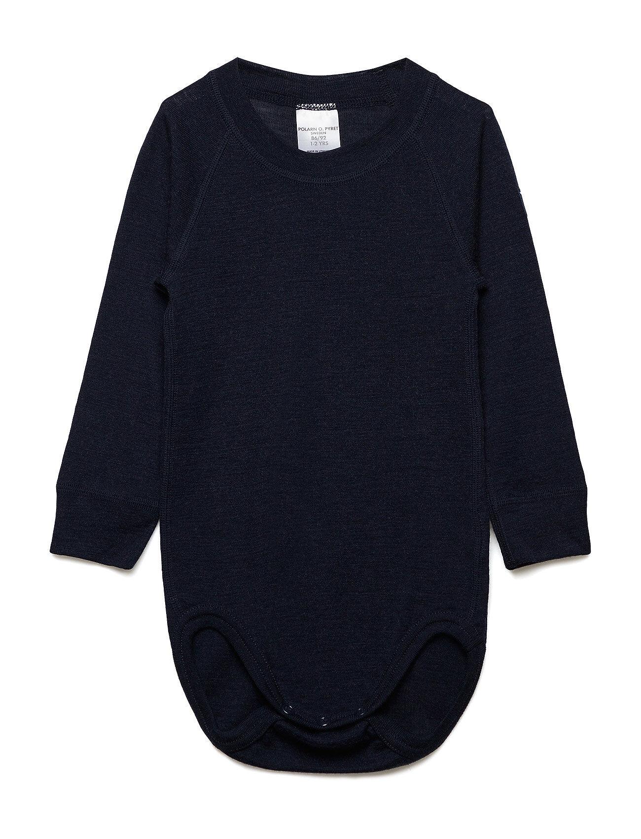 Polarn O. Pyret Body Wool Solid Baby