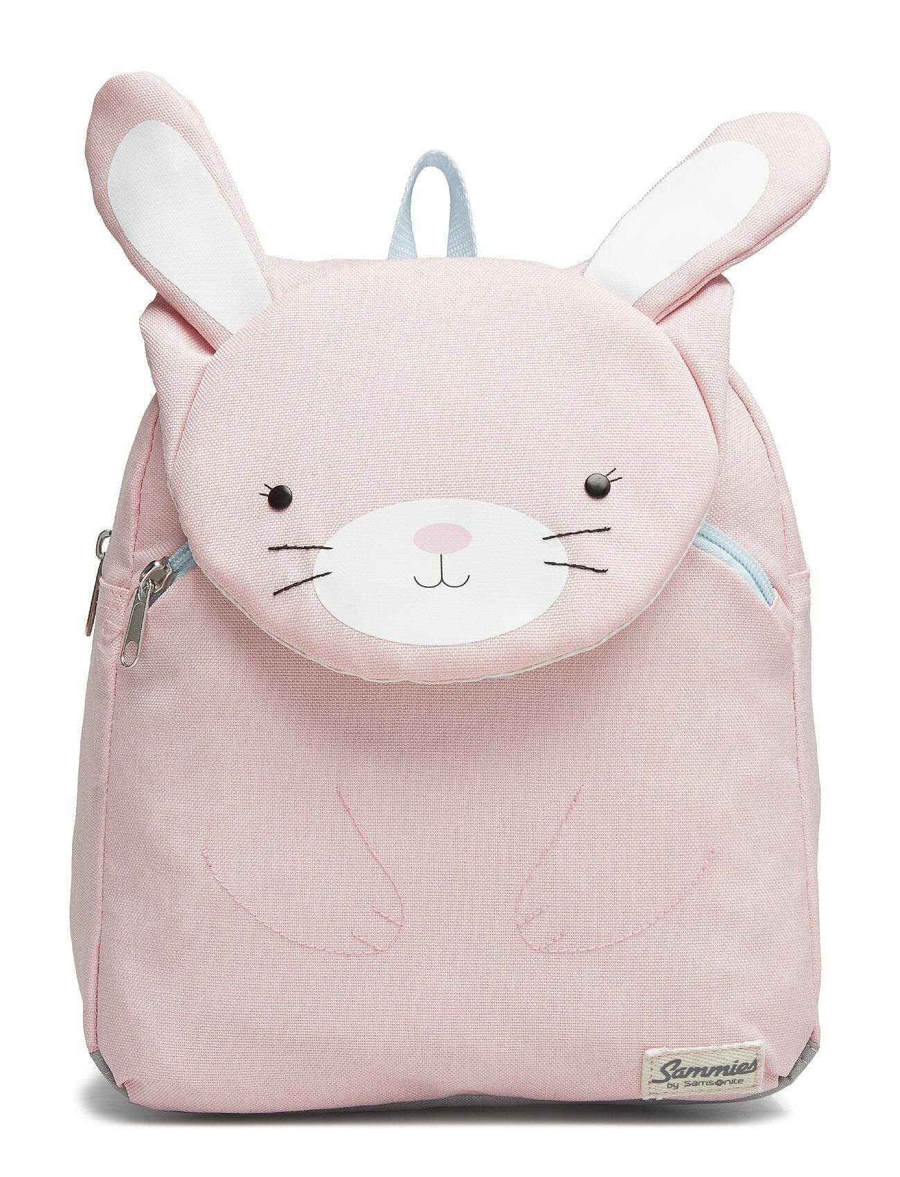 Samsonite Happy Sammies Backpack S Rabbit Rosie Accessories Bags Backpacks Vaaleanpunainen