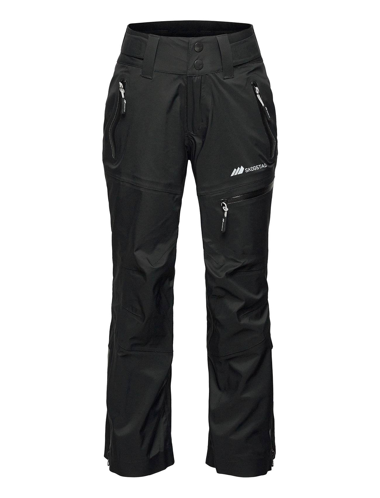 Skogstad Narvik 3-Layer Technical Shell Trouser Outerwear Shell Clothing Softshell Trousers Musta