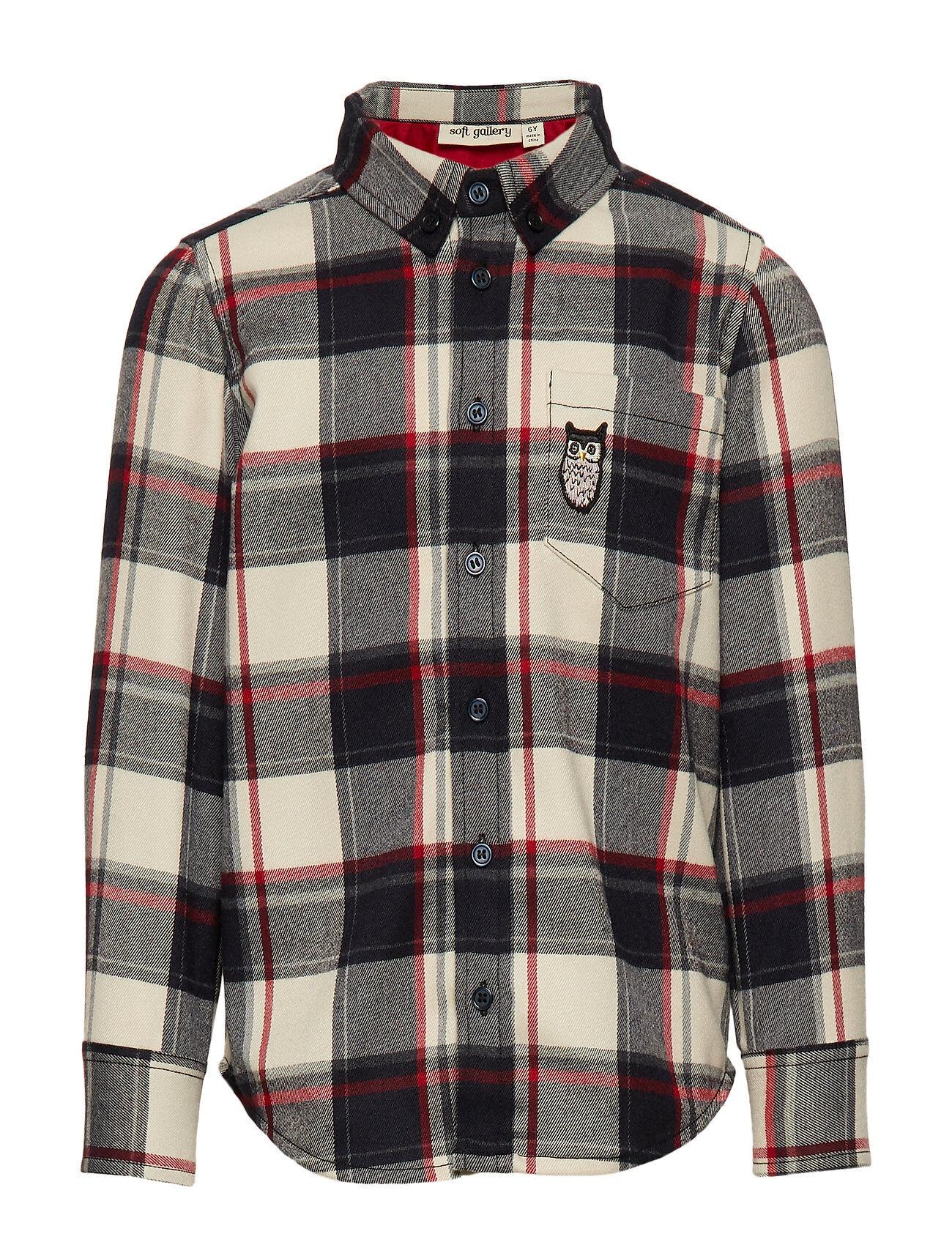Soft Gallery Bentley Shirt Paita Monivärinen/Kuvioitu Soft Gallery