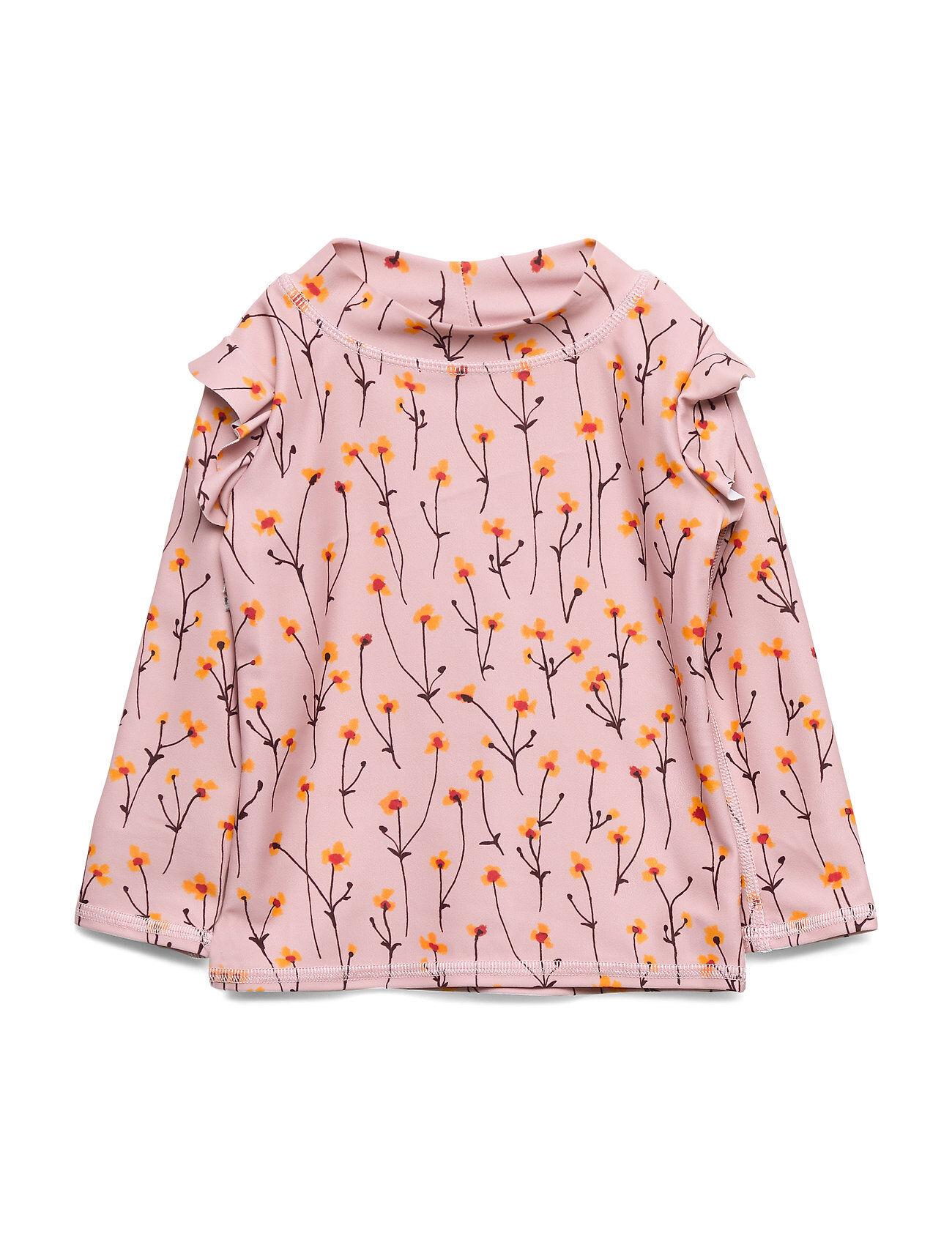 Image of Soft Gallery Baby Fee Sun Shirt Swimwear UV Clothing UV Tops Vaaleanpunainen Soft Gallery