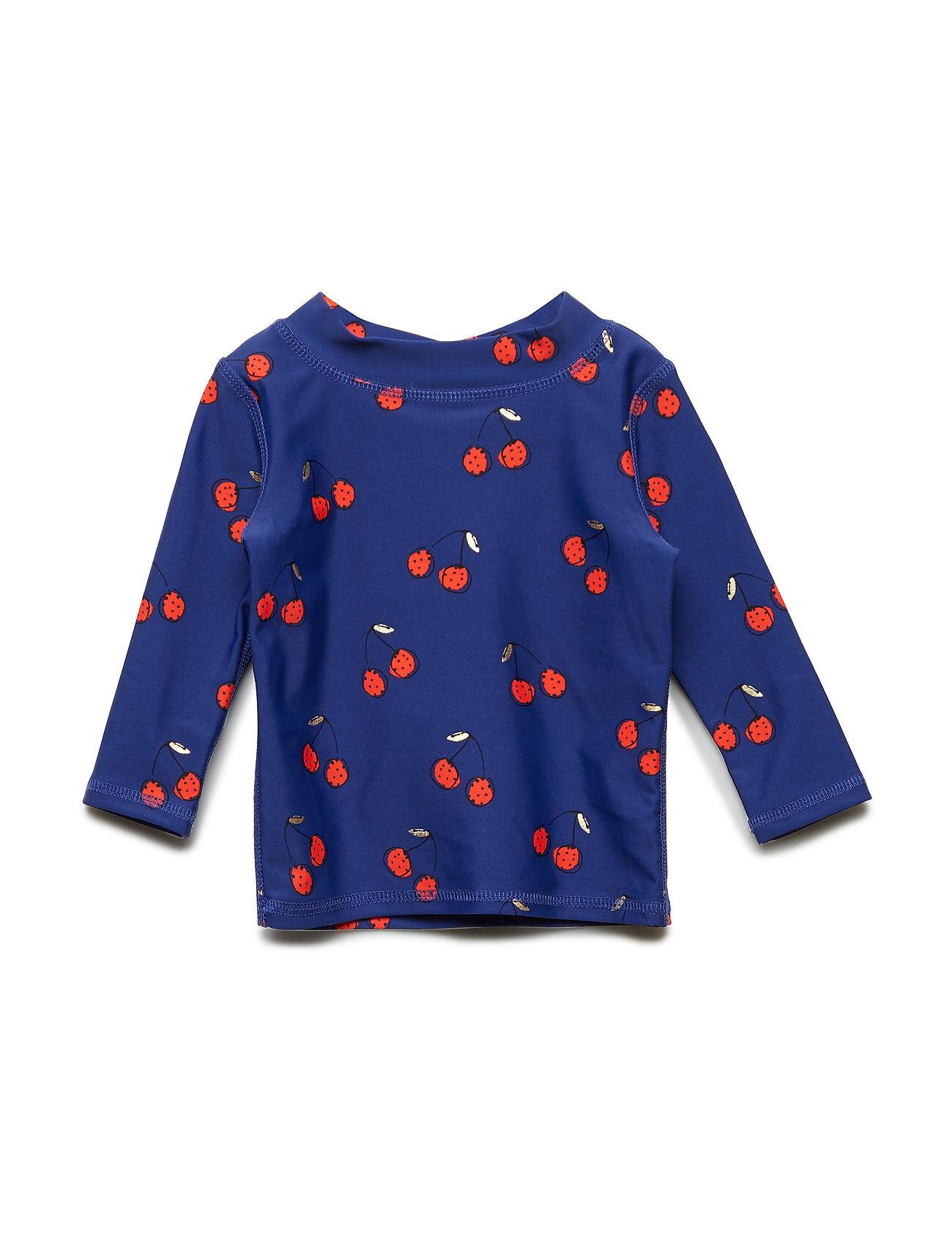 Image of Soft Gallery Baby Astin Sun Shirt Swimwear UV Clothing UV Suits Sininen Soft Gallery
