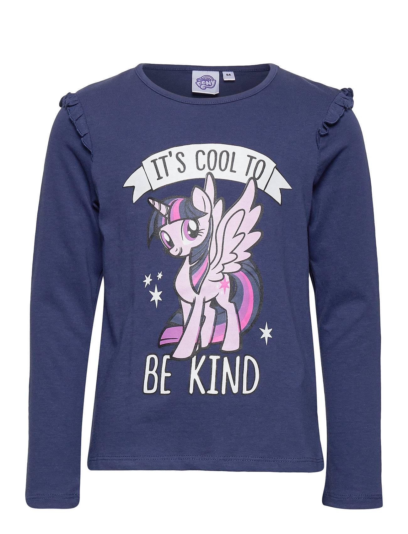 My Little Pony Ts Ml T-shirts Long-sleeved T-shirts Sininen My Little Pony