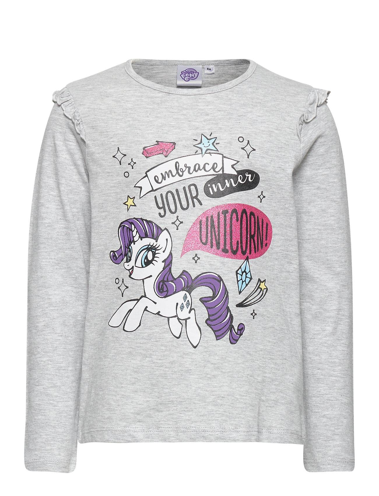 My Little Pony Ts Ml T-shirts Long-sleeved T-shirts Harmaa My Little Pony