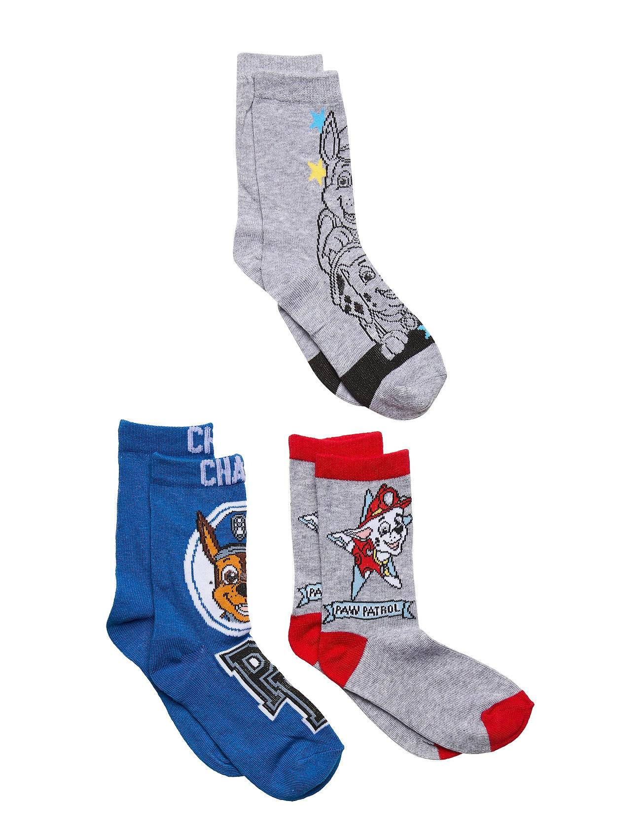 Paw Patrol Pack 3 Socks Sukat Monivärinen/Kuvioitu Paw Patrol