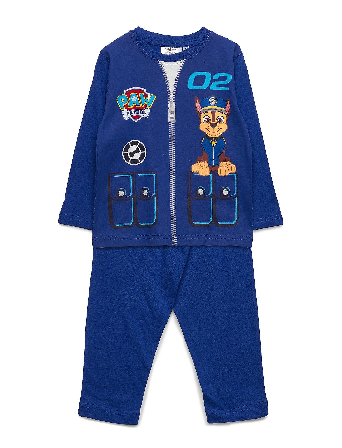 Paw Patrol Pyjama&Masque Pyjamasetti Pyjama Sininen Paw Patrol